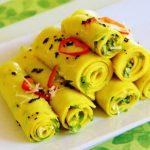 Microwave Khandvi – World cafe for u