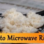 The Best Microwave Rice Recipe - How To Cook It Using A Bowl