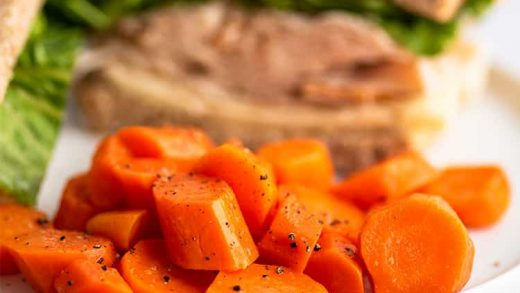 Microwave Carrots (Steamed Carrots in the Microwave) - Bake It With Love
