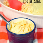 Microwave Chicken Fettuccine Alfredo Pasta Bake | Just Microwave It