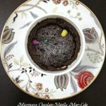 Microwave Chocolate-Nutella Mug-Cake - Cook By Book