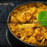 Microwave Gobi Fry - with very little oil :) - Clicks N Bites
