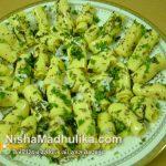 Harsha's Kitchenette: Instant Microwave Khandvi (Suralichi Wadi)