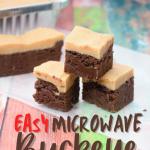 Easy Microwave Buckeye Fudge | Just Microwave It