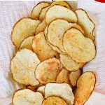 Microwave Potato Chips - Scattered Thoughts of a Crafty Mom by Jamie Sanders