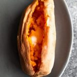 How to Cook a Sweet Potato in the Microwave - Sweet Peas and Saffron