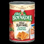 Beef Ravioli Microwavable Cup   Chef Boyardee