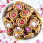 pretzel M&M Hershey's Kiss – First Look, Then Cook
