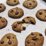 Soft Chocolate Chip Cookies with Mochi Filling 朱古力粒麻糬軟曲奇– EC Bakes 小意思
