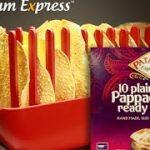 Papadum Express® - Patak's Pappadums. Microwave cook 5 in 60 seconds! -  YouTube