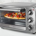 First run: frozen pizza in a countertop oven – Tasty Island