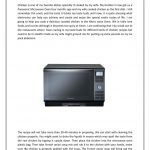 How to cook chicken in microwave oven by Panasonic India - issuu