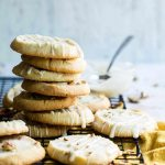 slice and bake Pecan shortbread cookies - Foodness Gracious