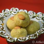 Almond Besan Ladoo (In Microwave) – Astha's Kitchen