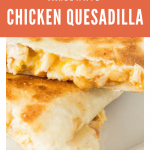 Microwave: Chicken Quesadilla – The Frugal Millennial