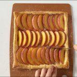 Peach puff tart recipe