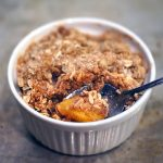 Individual Peach Crisp in 3 Minutes   Coffee With Us 3