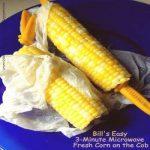 Microwave Corn on the Cob