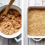 The BEST Chocolate Peanut Butter Rice Krispie Treats   Foodtasia