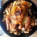 roast chicken with schmaltzy cabbage – smitten kitchen