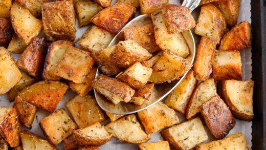 Potato Fry(Microwave Oven Method) ~ Nalini'sKitchen