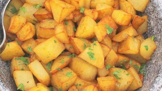 Salt and Vinegar Skillet Potatoes – Palatable Pastime Palatable Pastime