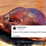 Turkey Microwave Meme: People Ask Their Mom How to Microwave a Turkey -  Thrillist