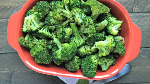 Simple Roasted Broccoli - Chocolate Slopes®