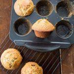 Six Week Raisin Bran Refrigerator Muffins | The Kitchen Magpie