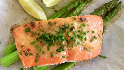 Quick Cook: Hawaiian-style roasted salmon with miso butter