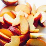 Dairy Free Peach Clafoutis - Chelsea Joy Eats