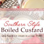 Southern Style Boiled Custard - Brownie Bites Blog