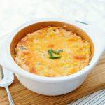 Spicy Cheddar Corn Casserole