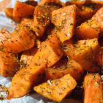 Sweet Potatoes - How to make then quickly in the Microwave - Urban Treats