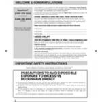 Frigidaire FFMV1645TB manual