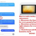 Experts Say Cooking Turkey In Microwave Is Totally Safe.