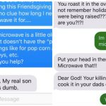 Kids Prank Parents About Microwaving A 25 Pound Turkey