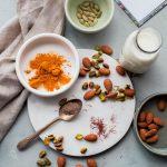 Turmeric Almond Milk - A Beautiful Plate