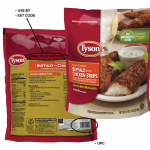Limited Amounts of Tyson® and Spare Time® Brand Chicken Strips Voluntarily  Recalled | Tyson Foods