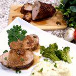 Brown Sugar Peach Glazed Ham – Palatable Pastime Palatable Pastime