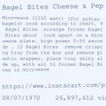 Pizza Bagel Microwave Directions