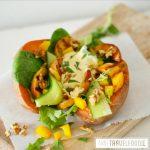 Microwave roasted sweet potatoes - Anne Travel Foodie
